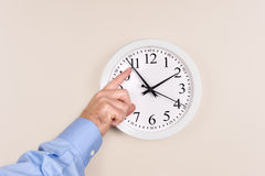 Tiempo cambiante Foto de archivo
