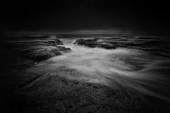Tiempo cambiante del paisaje marino de Narrabeen Fotografía de archivo