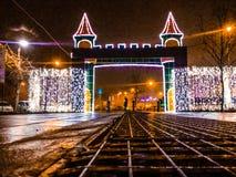Tiempo colorido de la Navidad Imágenes de archivo libres de regalías