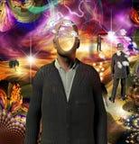Tiempo con un alma Imagen de archivo libre de regalías