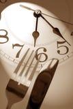 Tiempo de cena Imagenes de archivo