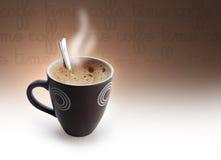 Tiempo de Coffe Imagen de archivo libre de regalías