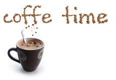 Tiempo de Coffe Fotografía de archivo