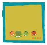 Tiempo de Coffe Imágenes de archivo libres de regalías