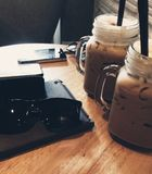 Tiempo de Coffe Imagen de archivo
