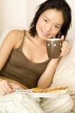 Tiempo de desayuno Imagen de archivo libre de regalías