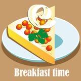 Tiempo de desayuno Imágenes de archivo libres de regalías
