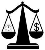 Tiempo de equilibrio y dinero libre illustration