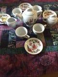 Tiempo de hadas del té Fotografía de archivo libre de regalías