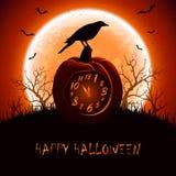 Tiempo de Halloween Imágenes de archivo libres de regalías
