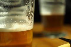 Tiempo de la cerveza Foto de archivo libre de regalías