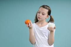 Tiempo de la comida de los niños Fotos de archivo