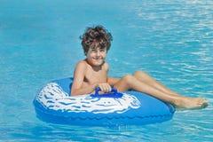 Tiempo de la diversión en Aqua Park en Esmirna Fotos de archivo libres de regalías