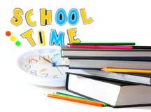 Tiempo de la escuela Imágenes de archivo libres de regalías