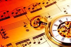 Tiempo de la música Fotos de archivo libres de regalías