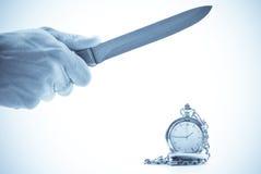 Tiempo de la matanza Imagen de archivo