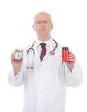 Tiempo de la medicina Imagen de archivo libre de regalías