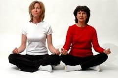Tiempo de la meditación Foto de archivo libre de regalías