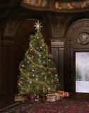 Tiempo de la Navidad Imágenes de archivo libres de regalías