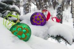 Tiempo de la Navidad. Foto de archivo libre de regalías