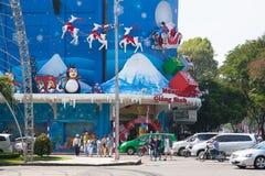Tiempo de la Navidad en Asia Foto de archivo libre de regalías