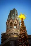 Tiempo de la Navidad en Berlín Fotografía de archivo libre de regalías