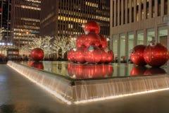 Tiempo de la Navidad en Nueva York foto de archivo libre de regalías