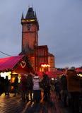 Tiempo de la Navidad, Praga Foto de archivo libre de regalías