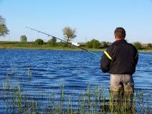 Tiempo de la pesca? Imágenes de archivo libres de regalías