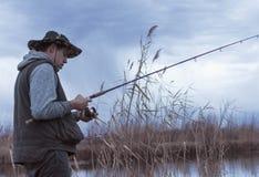 Tiempo de la pesca de la calidad imagen de archivo libre de regalías