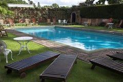 Tiempo de la piscina Foto de archivo libre de regalías