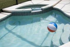 Tiempo de la piscina Imágenes de archivo libres de regalías