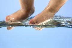 Tiempo de la piscina Imagen de archivo