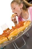 Tiempo de la pizza Imagen de archivo