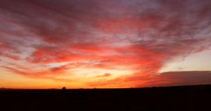 Tiempo de la salida del sol Fotos de archivo