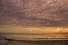 Tiempo de la salida del sol de la belleza Foto de archivo libre de regalías