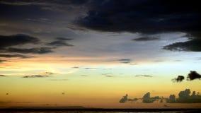 Tiempo de la tarde en Lombok Imagen de archivo