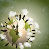 Tiempo de la tierra libre illustration