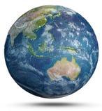 Tiempo de la tierra del planeta representación 3d libre illustration
