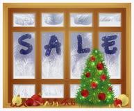 Tiempo de la venta del invierno E ilustración del vector