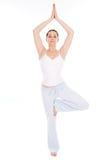 Tiempo de la yoga Imagen de archivo