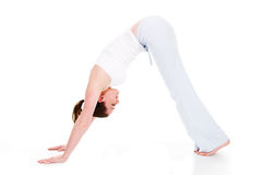 Tiempo de la yoga fotografía de archivo