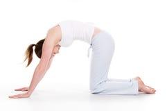 Tiempo de la yoga fotografía de archivo libre de regalías