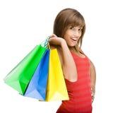 Tiempo de las compras Fotografía de archivo