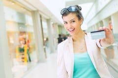 Tiempo de las compras Foto de archivo libre de regalías
