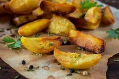 Tiempo de las patatas Foto de archivo libre de regalías