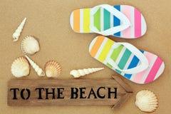 Tiempo de las vacaciones de verano imágenes de archivo libres de regalías