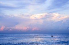 Tiempo de mañana de Colombo Imagen de archivo libre de regalías