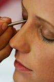 Tiempo de maquillaje Imágenes de archivo libres de regalías