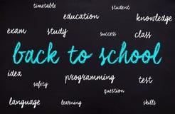 Tiempo de nuevo a la escuela Foto de archivo